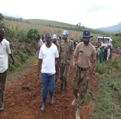 Road rehabilitation with UN troops, police and the army at Minembwe